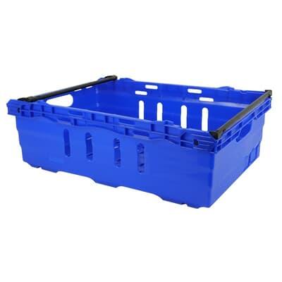 Re-Crate Crate, 600L x 400W x 199H, 38L, blue