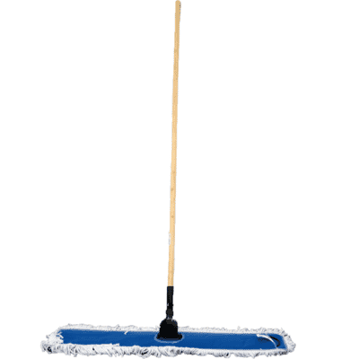 Dust Mop, 900mm, complete with handle and wire frame