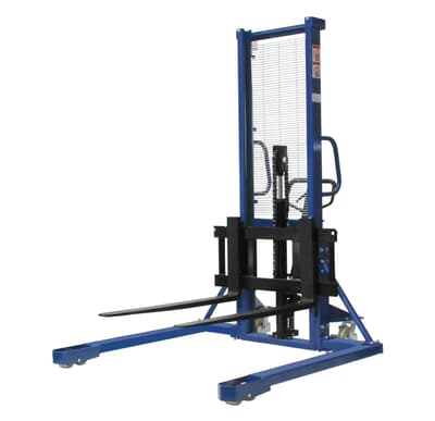 Manual Straddle Pallet Lifter, 1000kg capacity, 1600mm lift