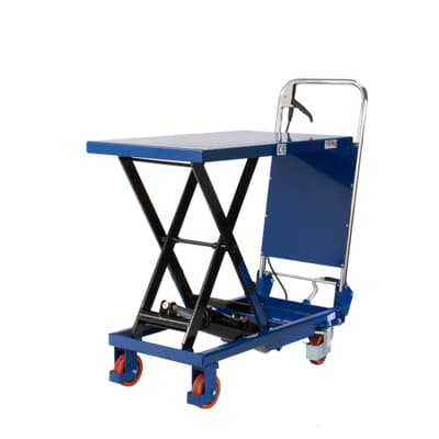 Mobile Scissor Table, 150kg capacity, 450W x 740L platform