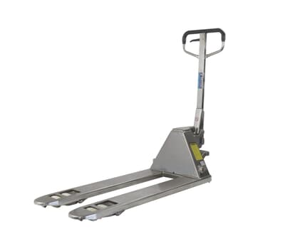 Stainless Steel Pallet Truck, 2500kg capacity, 1150L x 520W
