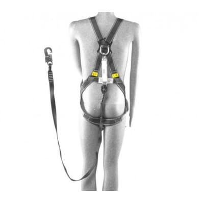 Safety Harness, for safety access cage, 2m lanyard, SizeM-XL