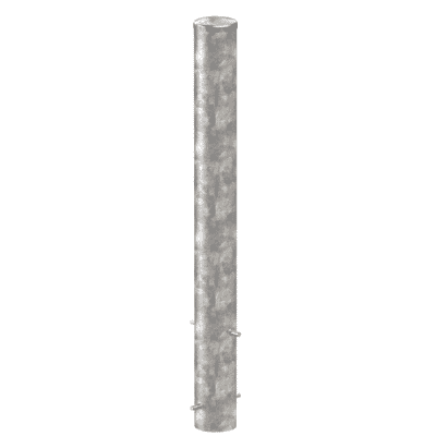 Inground Mount Bollard, 115mm Ø, 1620H, galvanised