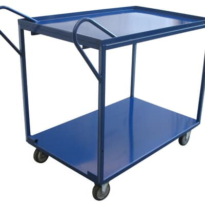 2 Tier Trolley, 670W x 1150L