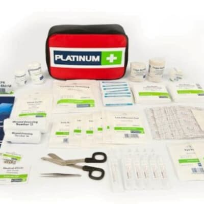 Platinum First Aid Kit, Medium workplace kit, 105 piece