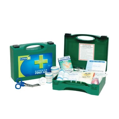 Platinum Truck First Aid Kit, Supplied in green plastic case