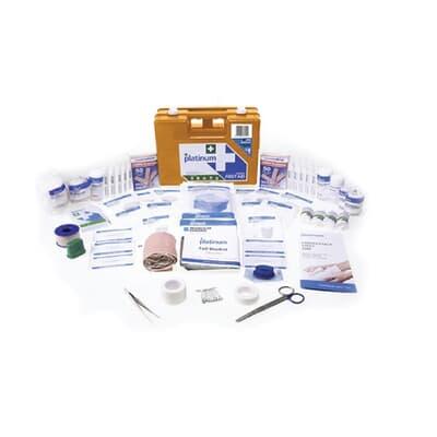 Platinum First Aid Kit, Large Plastic Case kit, 172 piece