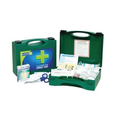 Platinum First Aid Kit, Small Plastic Case, 51 piece