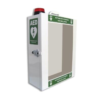 Defibrillator Cabinet, Alarmed and Lockable