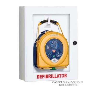 Defibrillator Cabinet, Empty Metal & Perspex