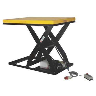 Hydraulic Scissor Table, 1000kg capacity, 1300L x 800W