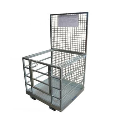 Safety Access Cage, zinc finish, 1084W x 1154D x 2000H