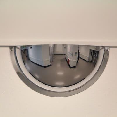Indoor Dome Convex Mirror, Half Dome