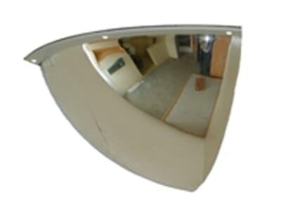 Indoor Dome Convex Mirror, Quarter Dome