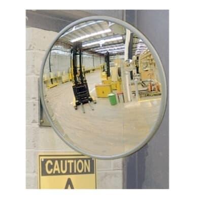 Indoor/Outdoor Convex Mirror, Heavy Duty