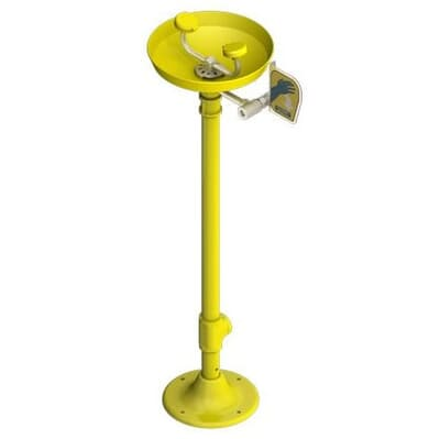 Eye Wash Station, pedestal stand, hand operated
