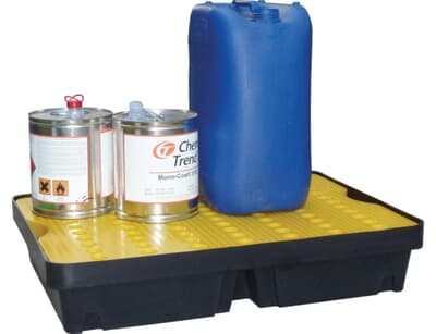 Controlco 60L Spilltray, 1000 x 600 x 175mm, 60L capacity