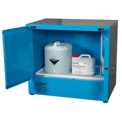Corrosive Goods Cabinet, 100L, 800H x 920W x 615D