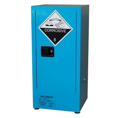 Corrosive Goods Cabinet, 60L, 1065H x 500W x 450D