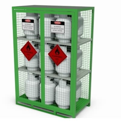 Chemshed Gas Cylinder Store Medium, 1820 x 1200 x 650mm