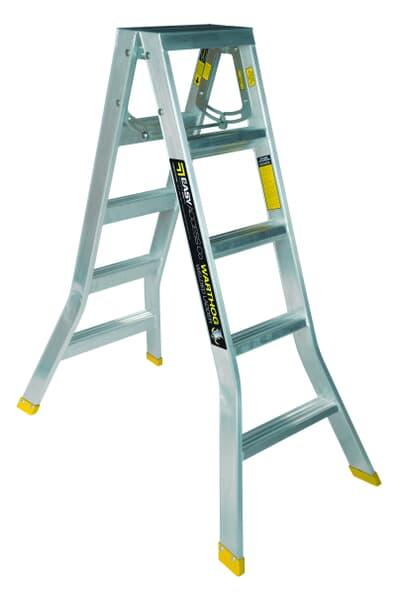 Warthog Double Sided Step Ladder
