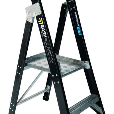 Trade Series Fibreglass Trade Platform Ladder