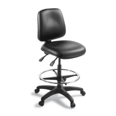 Chorus 2.40 Highlift Chair in Black Vinyl