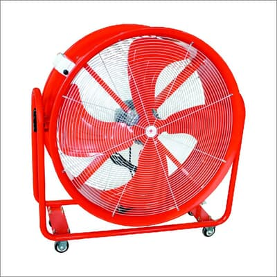 Portable Blow Drum Fan, 600mm