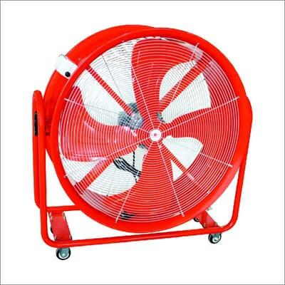 Portable Blow Drum Fan, 800mm