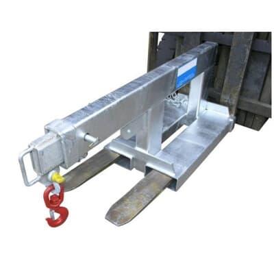 Slip-On Short Jib, 2500kg capacity, 1.3m-2.0m, galvanised