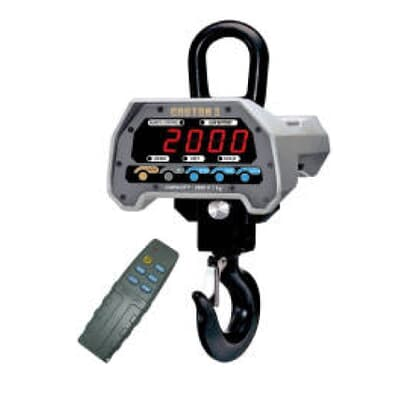 CASTON-II Digital Crane Scale, 1000kg capacity, 0.5kg increments
