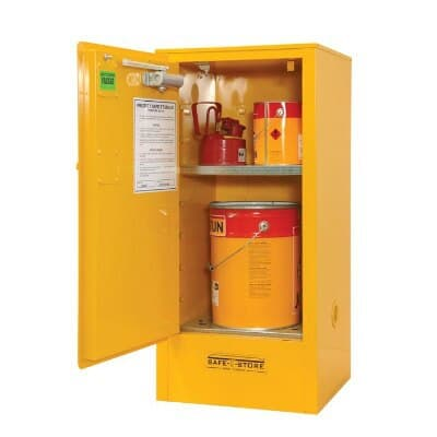Chemshed Flammable Goods Cabinet, 60L, 1065H x 500W x 450D
