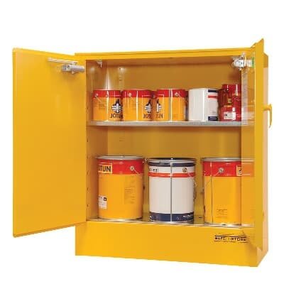 Chemshed Flammable Goods Cabinet, 100L, 800H x 920W x 615D