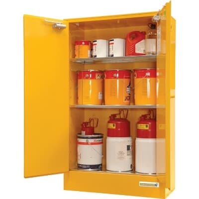 Chemshed Flammable Goods Cabinet, 250L, 1750H x 1100W x 500D