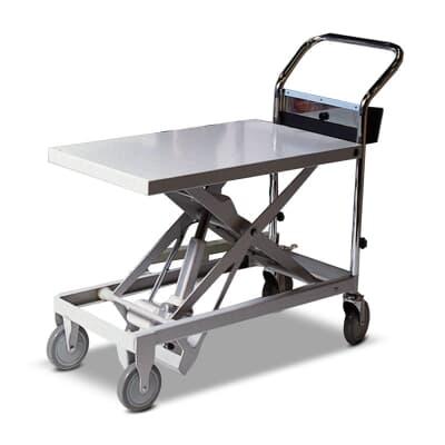 Powerlift Trolley, 250kg, 895L x 480W