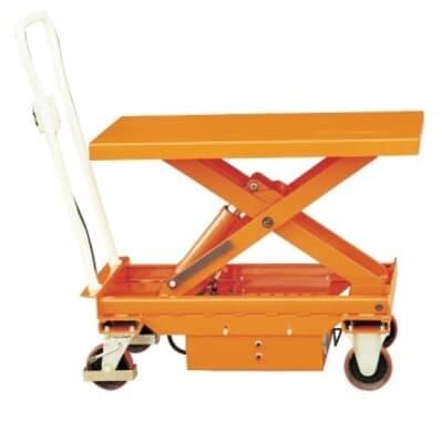 Electric Mobile Scissor Table, 500kg capacity, 1010L x 520W