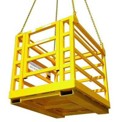 4 Person Crane Cage Without Roof, 1200x1200