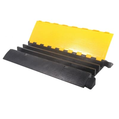 Cable Protection, vehicle, 3 channel, 900L x 500W x 75H
