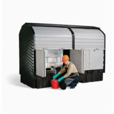 Controlco Double IBC Roll Top