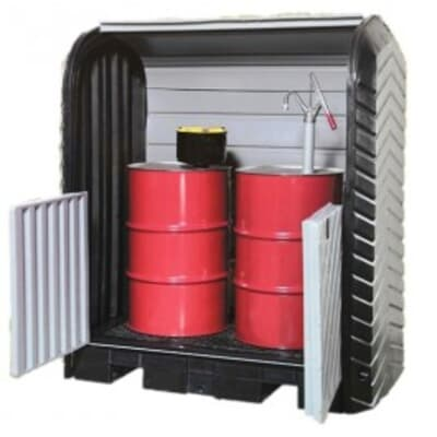 2 Drum Roll Top Hardcover, 1708W x 1047L x 1880H