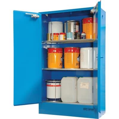Corrosive Goods Cabinet, 250L, 1750H x 1100W x 500D