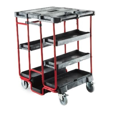 Ladder Cart, 805W x 690D x 1120H, 250kg capacity