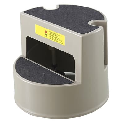 Mobile Step Stool, light duty, 406W x 343H