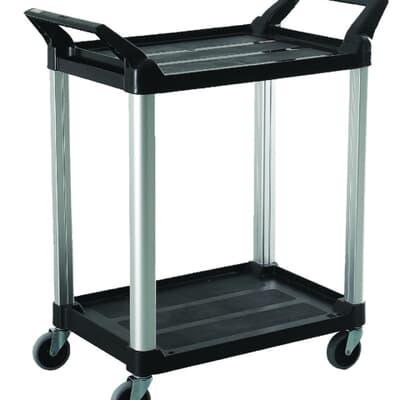 2 Tier Service Cart, 850L x 470W x 960H