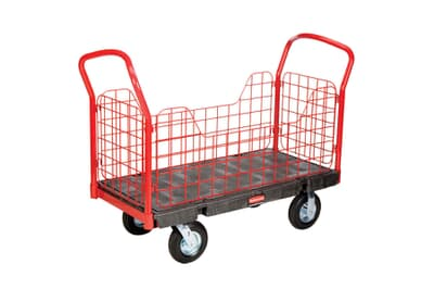 Platform Cart With Mesh Sides