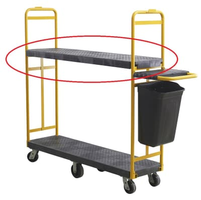 Large Shelf for Large Material Supply Cart