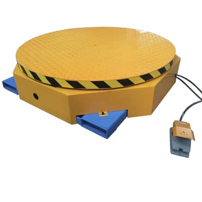 Turntable Wrapper, 2000kg rated, 1220mmØ