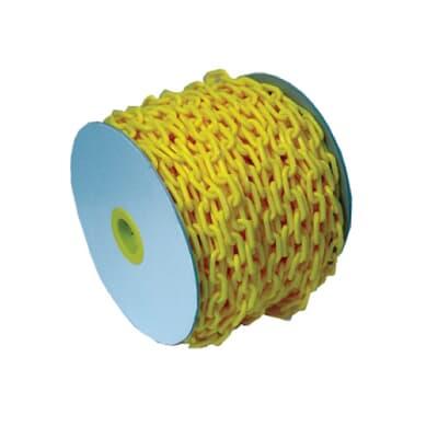 Plastic Chain Yellow, 50m