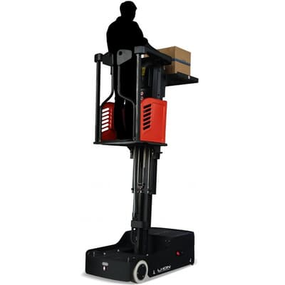 EP JX0 Electric Order Picker, 3m, L-ion battery and auto charger