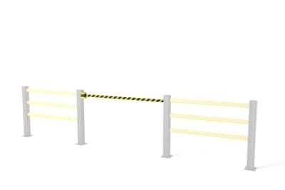 Boplan BB Retractable Flex Impact Belt Barrier